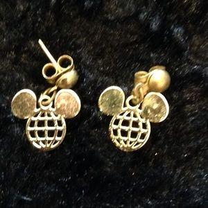 Disney world Mickey Mouse pierced earrings dangle